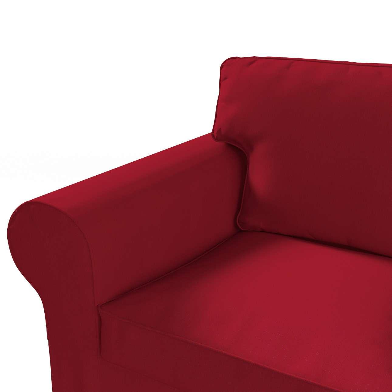 Ektorp trekk 3 seter sovesofa uten boks fra kolleksjonen Chenille, Stoffets bredde: 702-24
