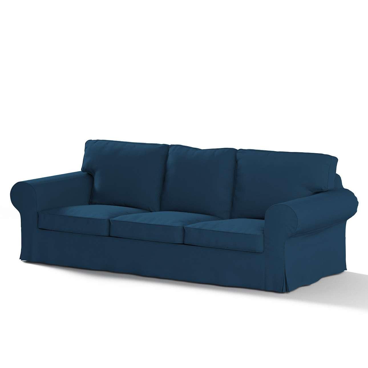 Ektorp trekk 3 seter sovesofa uten boks fra kolleksjonen Cotton Panama, Stoffets bredde: 702-30