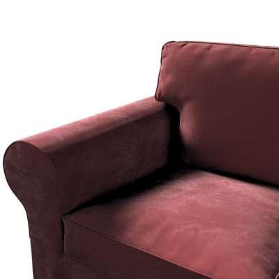 Ektorp trekk 3 seter sovesofa uten boks fra kolleksjonen Velvet, Stoffets bredde: 704-26