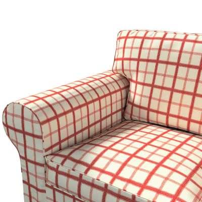 Ektorp trekk 3 seter sovesofa uten boks fra kolleksjonen Avinon, Stoffets bredde: 131-15