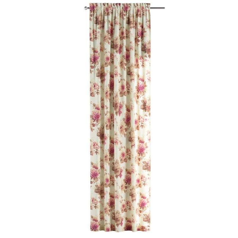Záves s navliekacou riasiacou páskou V kolekcii Londres, tkanina: 141-06