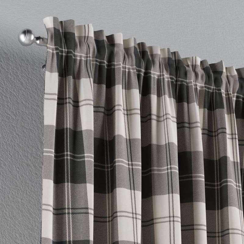 Záves s navliekacou riasiacou páskou V kolekcii Edinburg, tkanina: 115-74