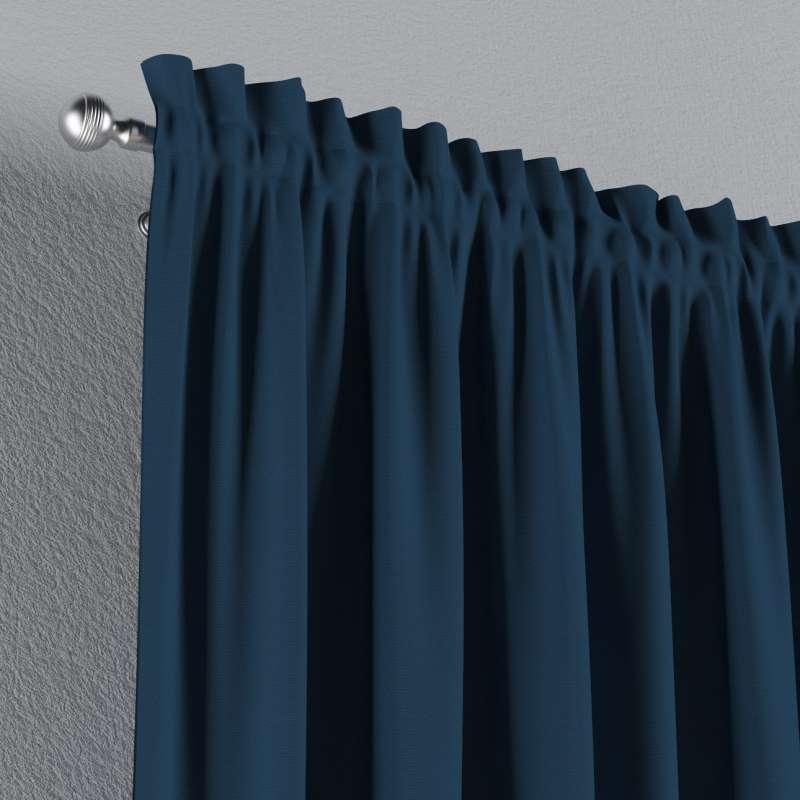 Záves s navliekacou riasiacou páskou V kolekcii Cotton Panama, tkanina: 702-30