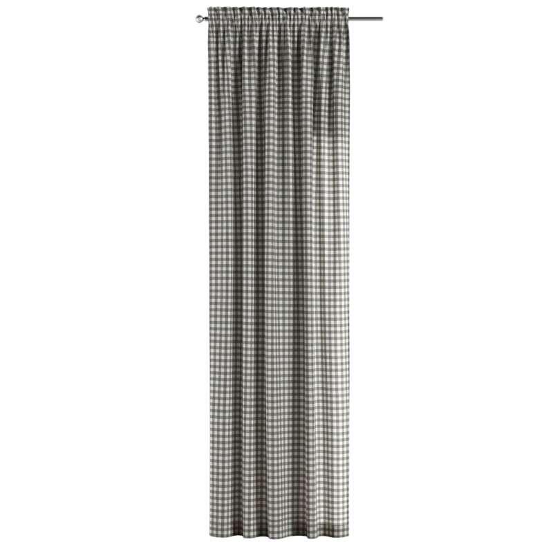 Gardin med løpegang - multibånd 1 stk. fra kolleksjonen Quadro, Stoffets bredde: 136-11