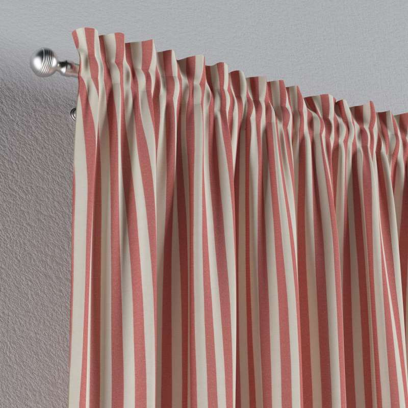 Záves s navliekacou riasiacou páskou V kolekcii Quadro, tkanina: 136-17