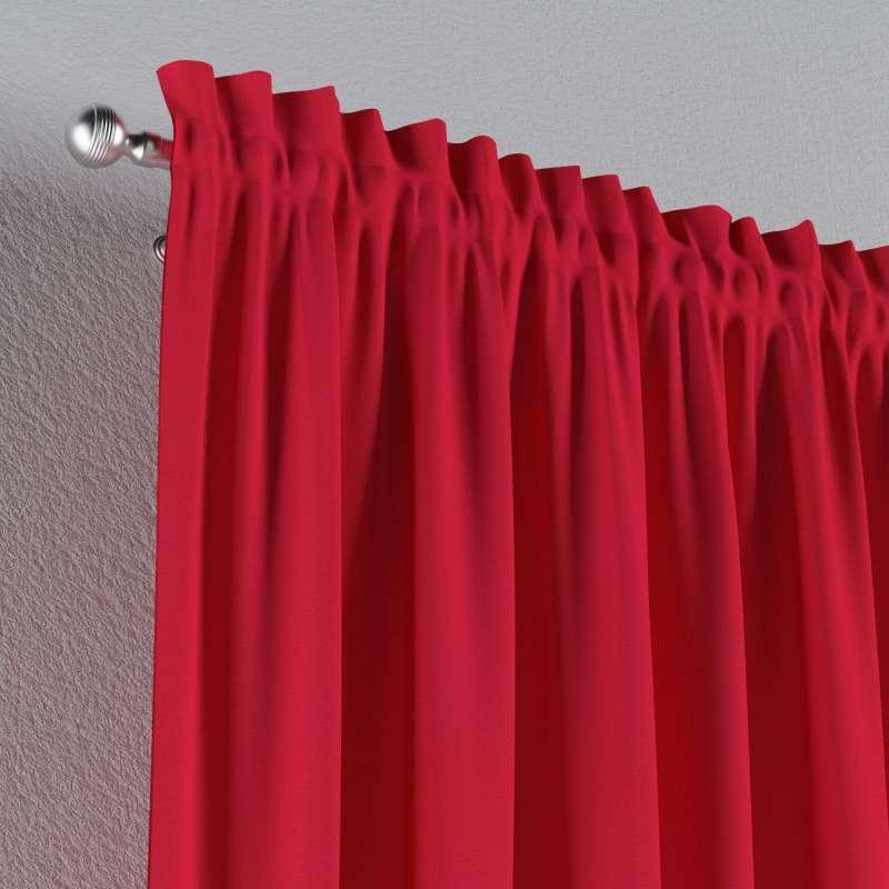Záves s navliekacou riasiacou páskou V kolekcii Quadro, tkanina: 136-19
