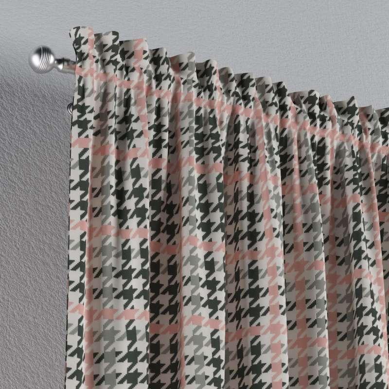 Záves s navliekacou riasiacou páskou V kolekcii Brooklyn, tkanina: 137-75