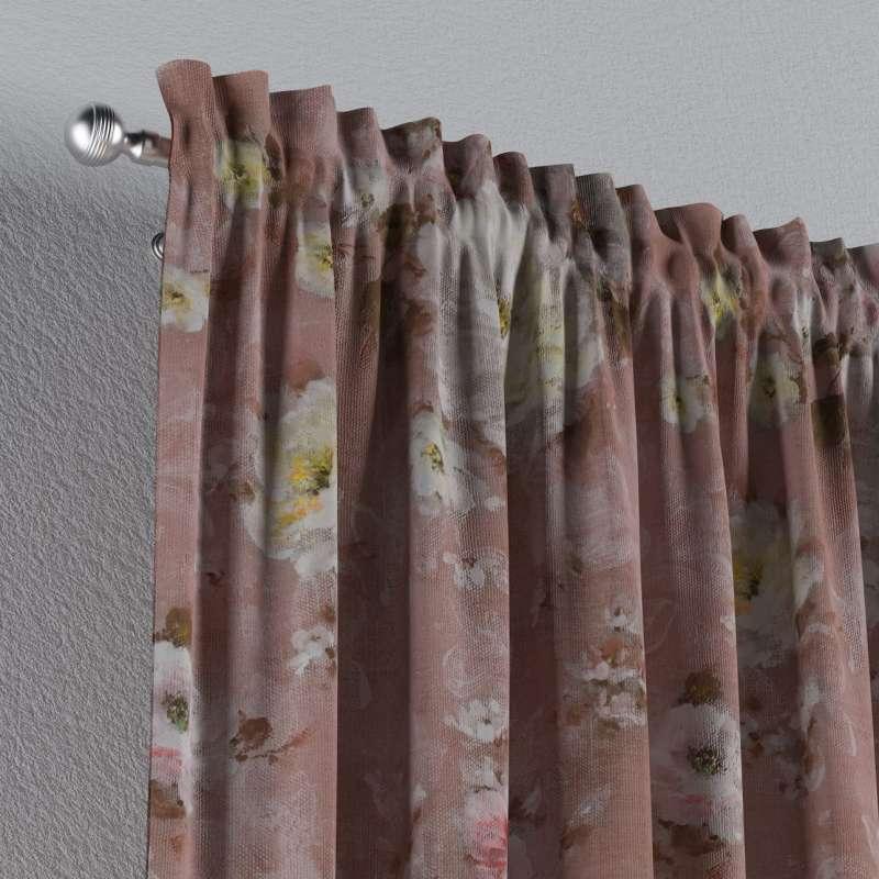 Záves s navliekacou riasiacou páskou V kolekcii Monet, tkanina: 137-83