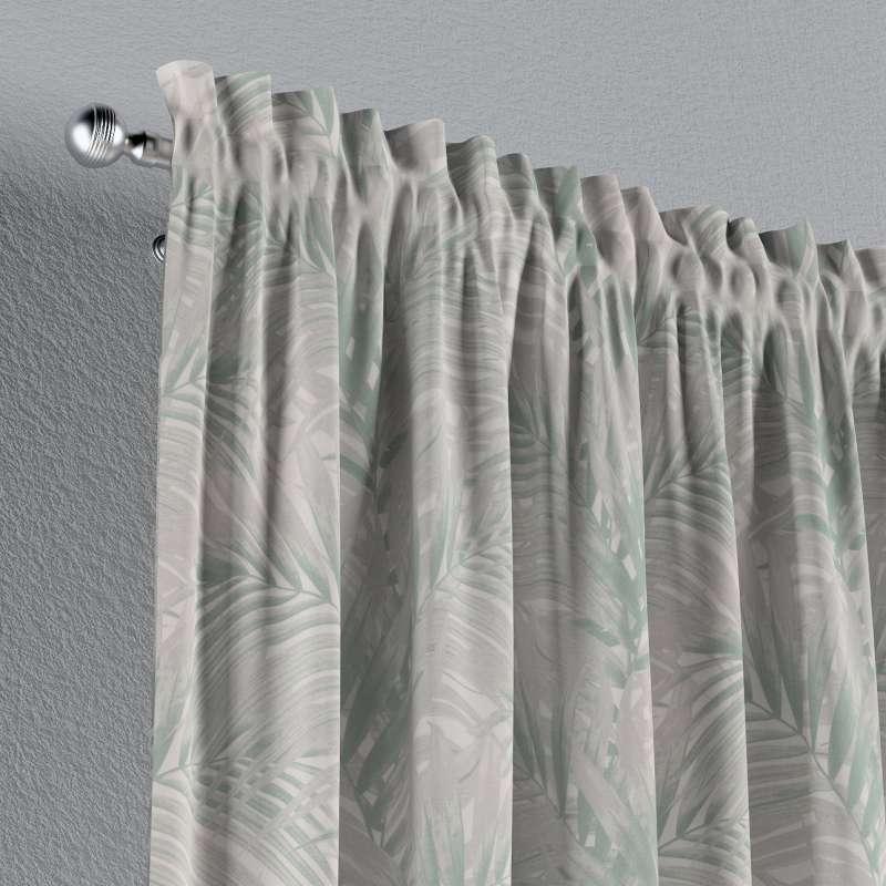 Záves s navliekacou riasiacou páskou V kolekcii Gardenia, tkanina: 142-15