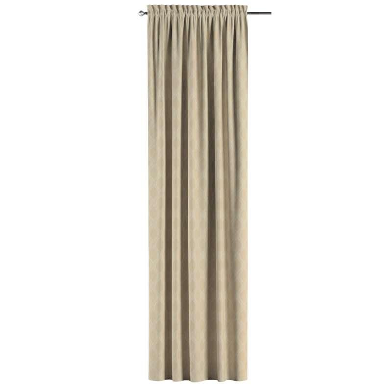 Záves s navliekacou riasiacou páskou V kolekcii Damasco, tkanina: 142-53