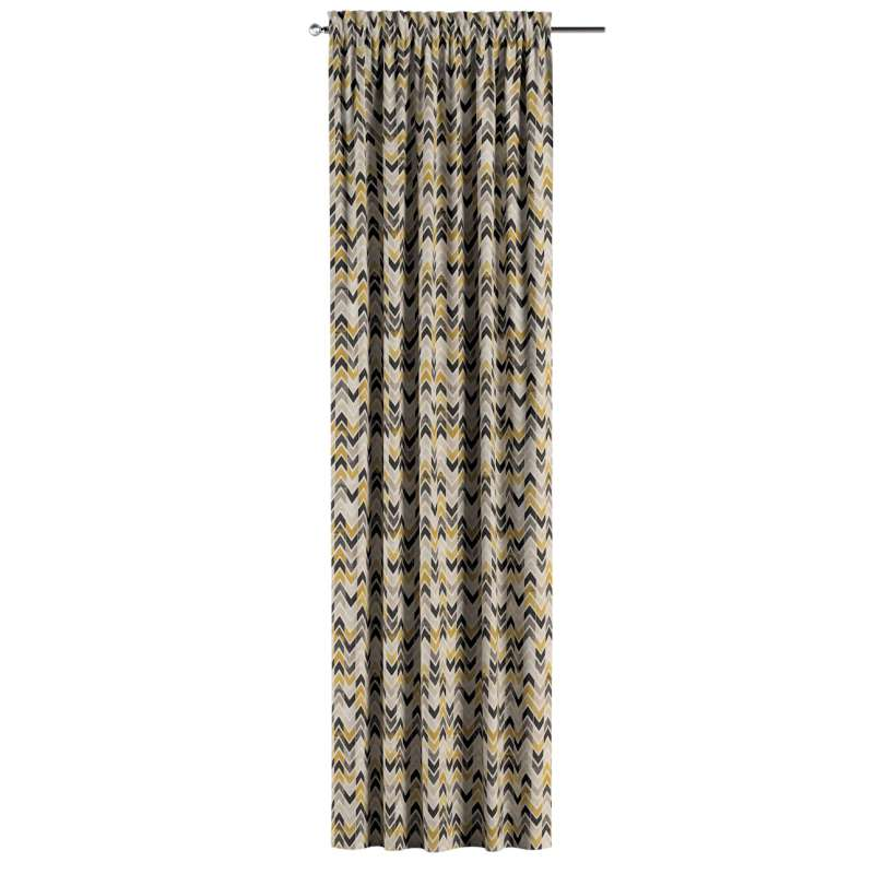 Záves s navliekacou riasiacou páskou V kolekcii Modern, tkanina: 142-79