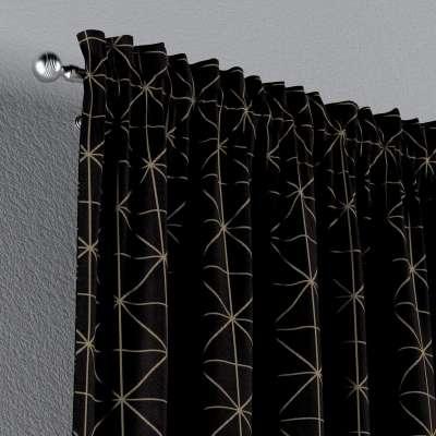 Gardin med løpegang - multibånd 1 stk. fra kolleksjonen Black & White, Stoffets bredde: 142-55
