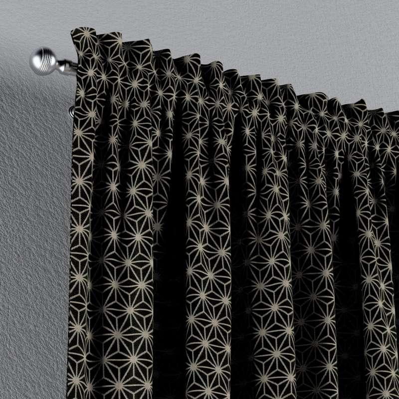 Gardin med løpegang - multibånd 1 stk. fra kolleksjonen Black & White, Stoffets bredde: 142-56