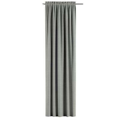 Gardin med løpegang - multibånd 1 stk. fra kolleksjonen Black & White, Stoffets bredde: 142-76