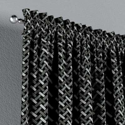 Gardin med løpegang - multibånd 1 stk. fra kolleksjonen Black & White, Stoffets bredde: 142-87