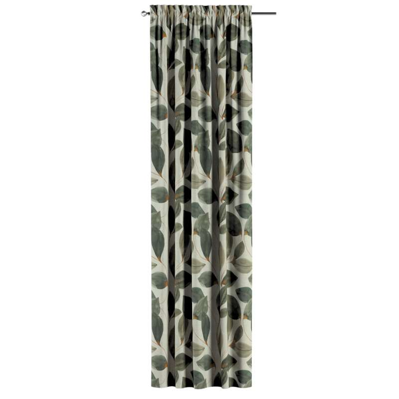 Záves s navliekacou riasiacou páskou V kolekcii Abigail, tkanina: 143-17