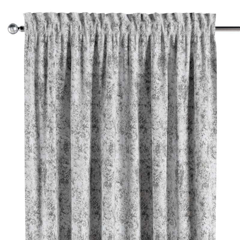 Záves s navliekacou riasiacou páskou V kolekcii Velvet, tkanina: 704-49