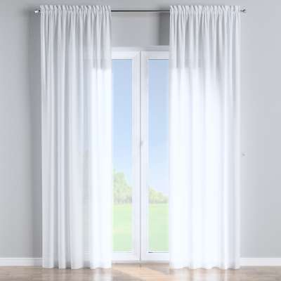 Slot and frill curtains in collection Romantica, fabric: 128-77