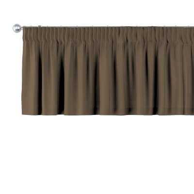 Gardinkappe med rynkebånd og løpegang H40cm fra kolleksjonen Cotton Panama, Stoffets bredde: 702-02