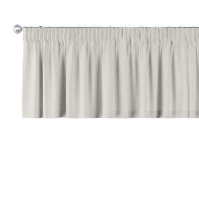 Gardinkappe med rynkebånd og løpegang H40cm fra kolleksjonen Cotton Panama, Stoffets bredde: 702-31
