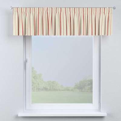 Pencil pleat pelmet in collection Avinon, fabric: 129-15