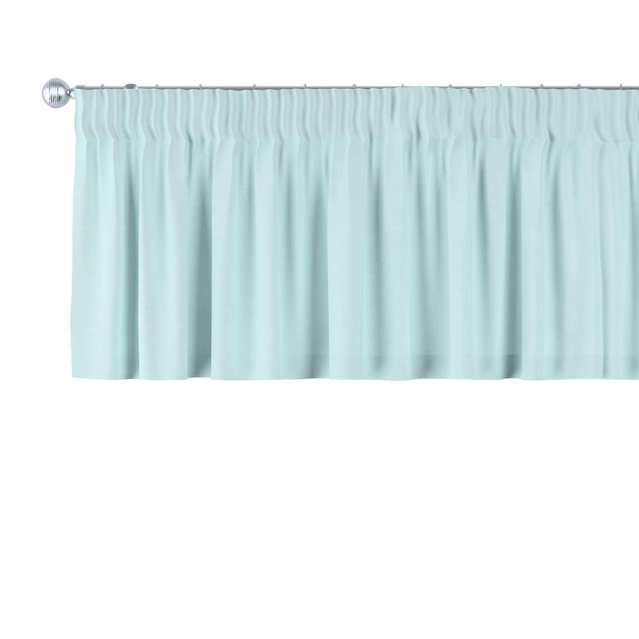 Gardinkappe med rynkebånd og løpegang H40cm fra kolleksjonen Cotton Panama, Stoffets bredde: 702-10