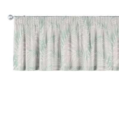 Gardinkappe med rynkebånd og løpegang H40cm fra kolleksjonen Gardenia, Stoffets bredde: 142-15