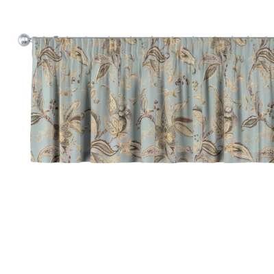 Pencil pleat pelmet in collection Gardenia, fabric: 142-18