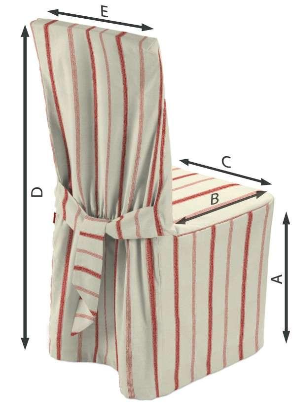 Návlek na stoličku V kolekcii Avinon, tkanina: 129-15