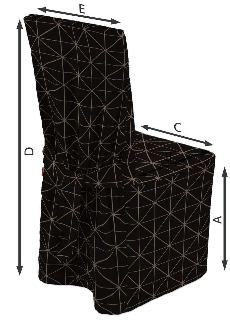 Universal Stoltrekk fra kolleksjonen Black & White, Stoffets bredde: 142-55