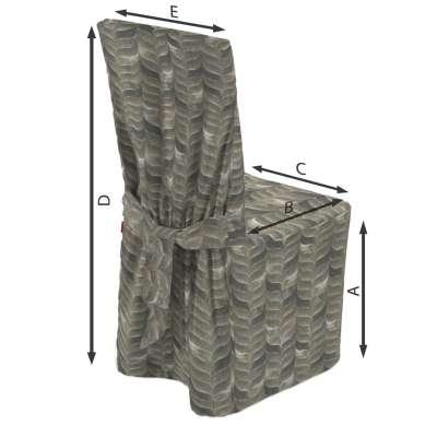 Universal tuolin päällinen mallistosta Abigail, Kangas: 143-12