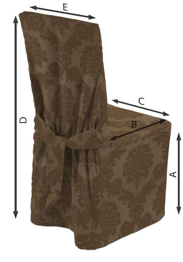 Universal tuolin päällinen mallistosta Damasco, Kangas: 613-88