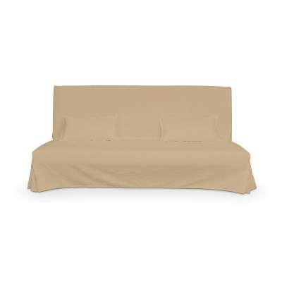 Beddinge einfacher Sofabezug lang mit zwei Kissenhüllen von der Kollektion Cotton Panama, Stoff: 702-01