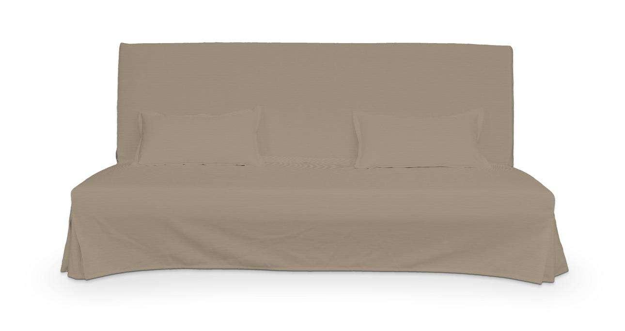 Pokrowiec niepikowany na sofę Beddinge i 2 poszewki w kolekcji Cotton Panama, tkanina: 702-28