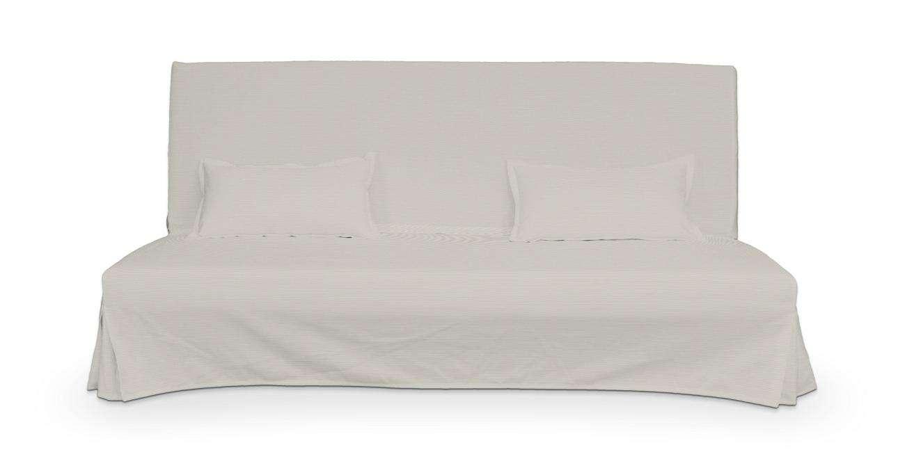 Pokrowiec niepikowany na sofę Beddinge i 2 poszewki w kolekcji Cotton Panama, tkanina: 702-31