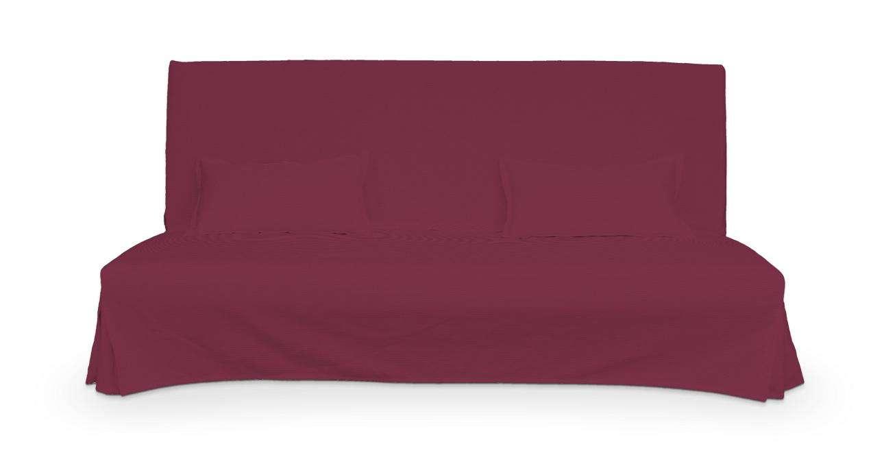 Pokrowiec niepikowany na sofę Beddinge i 2 poszewki w kolekcji Cotton Panama, tkanina: 702-32