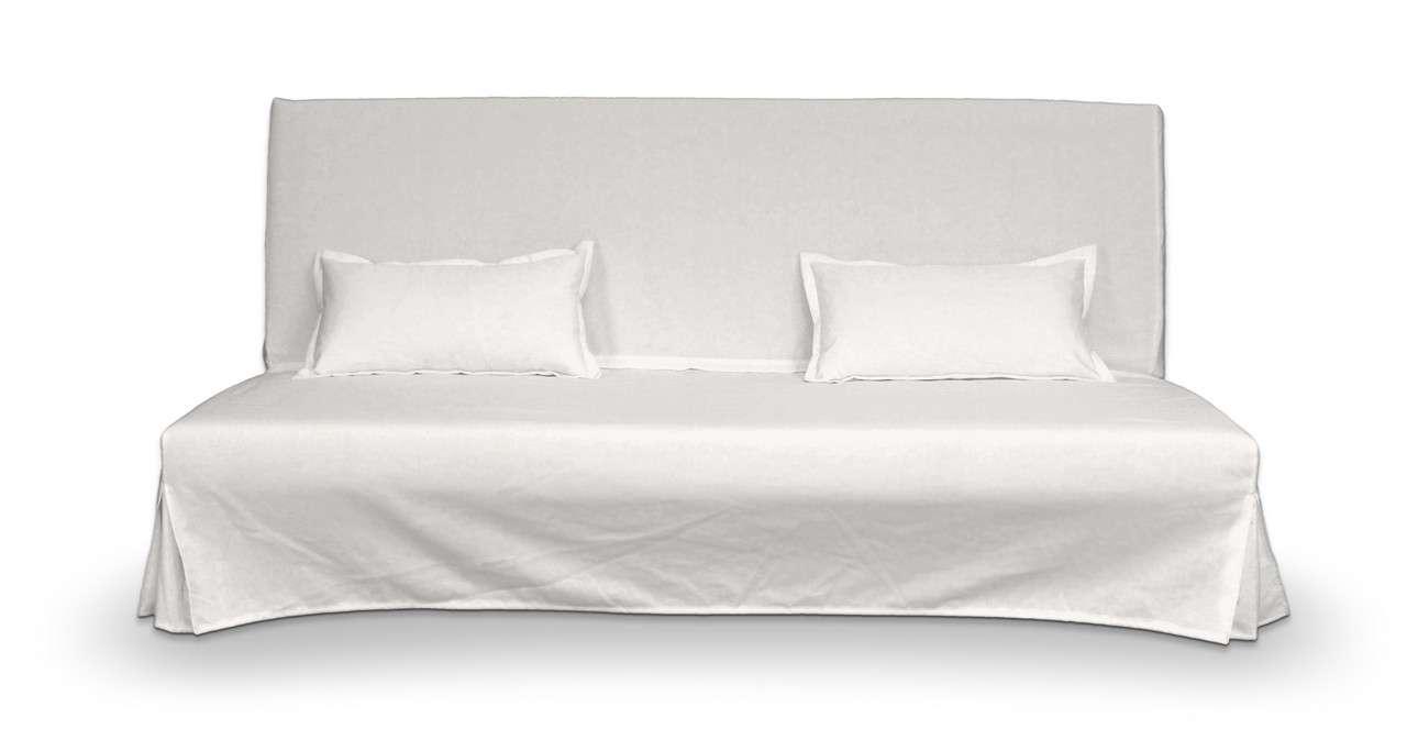Pokrowiec niepikowany na sofę Beddinge i 2 poszewki w kolekcji Cotton Panama, tkanina: 702-34