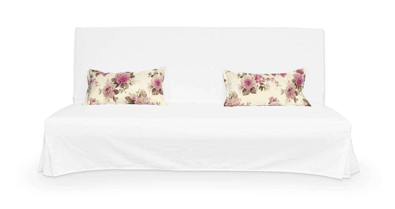 2 poszewki niepikowane na poduszki Beddinge w kolekcji Londres, tkanina: 141-07