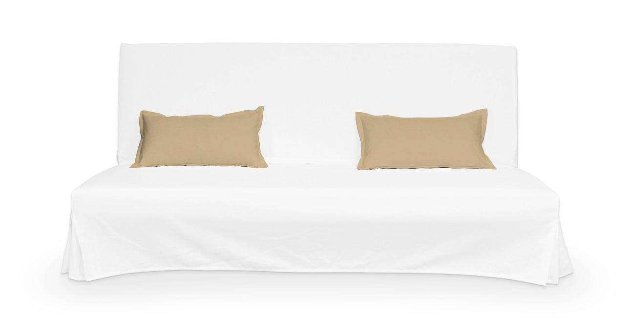 2 poszewki niepikowane na poduszki Beddinge w kolekcji Cotton Panama, tkanina: 702-01