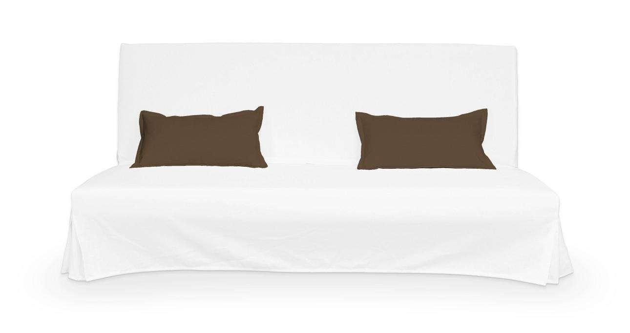2 poszewki niepikowane na poduszki Beddinge w kolekcji Cotton Panama, tkanina: 702-02