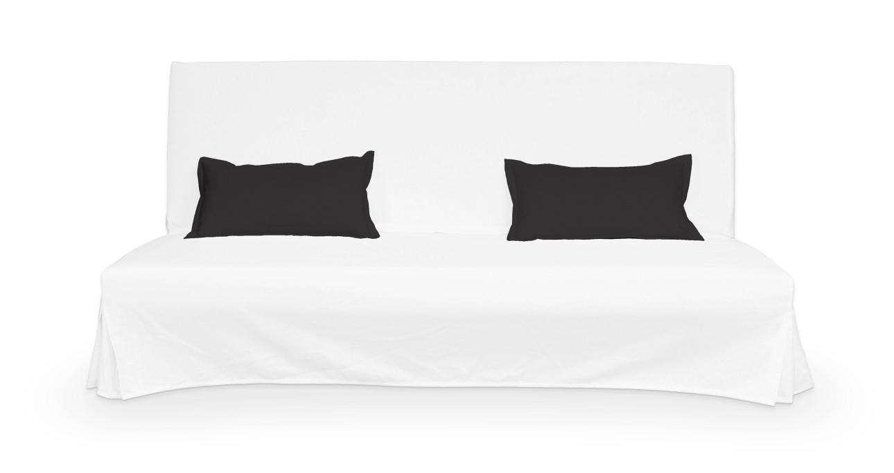 2 poszewki niepikowane na poduszki Beddinge w kolekcji Cotton Panama, tkanina: 702-08