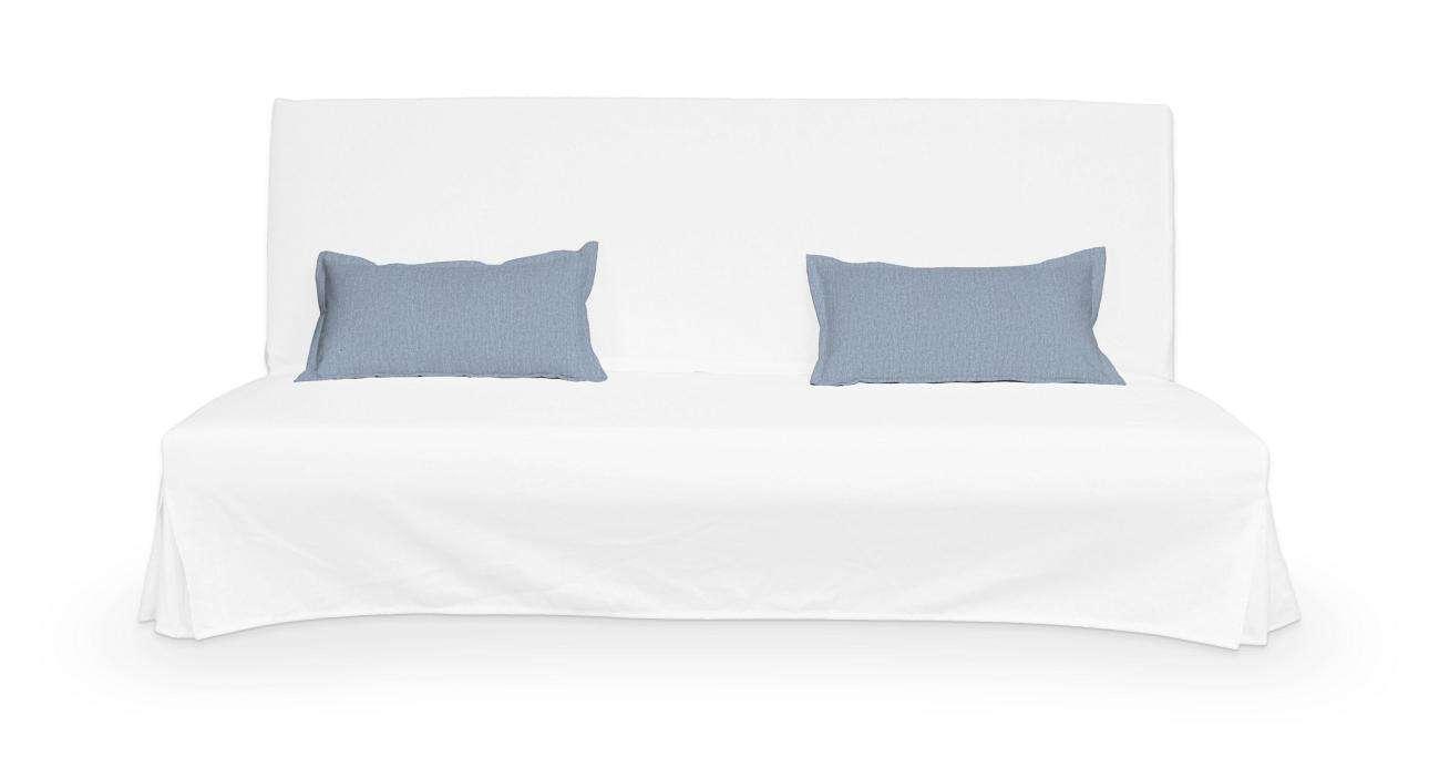 2 poszewki niepikowane na poduszki Beddinge w kolekcji Chenille, tkanina: 702-13