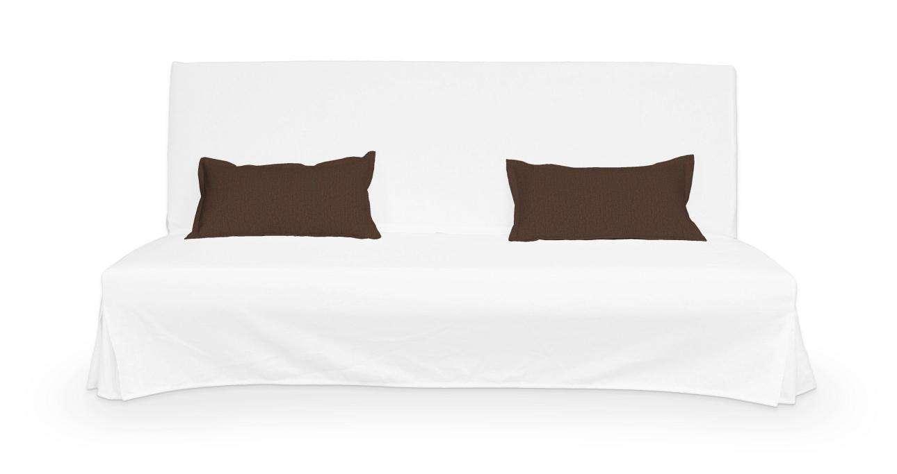 2 poszewki niepikowane na poduszki Beddinge w kolekcji Chenille, tkanina: 702-18
