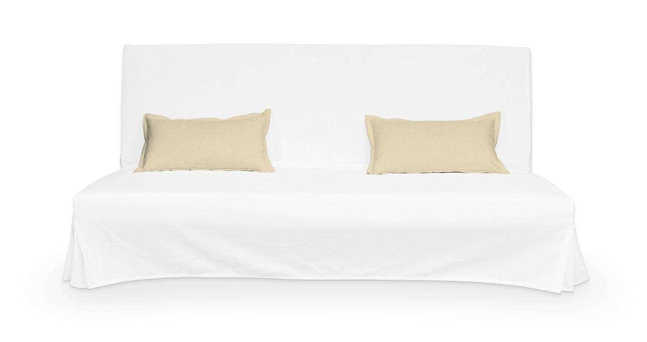 2 poszewki niepikowane na poduszki Beddinge w kolekcji Chenille, tkanina: 702-22