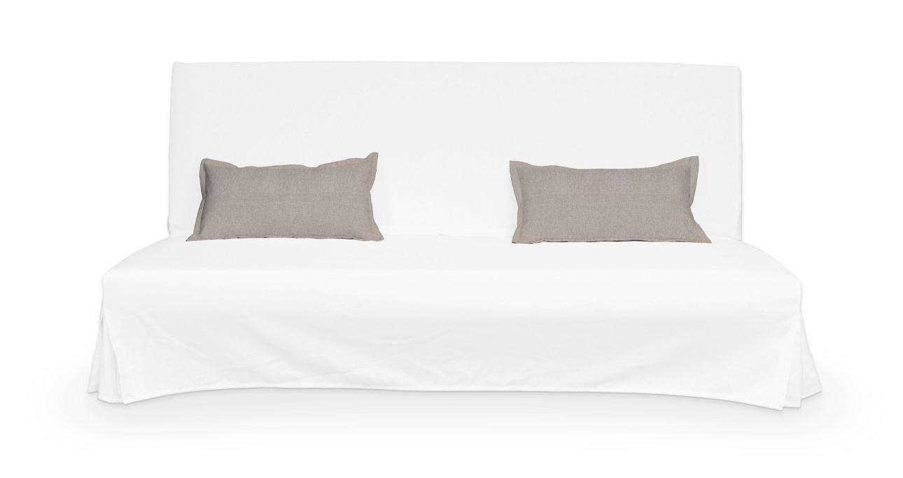 2 poszewki niepikowane na poduszki Beddinge w kolekcji Etna, tkanina: 705-09