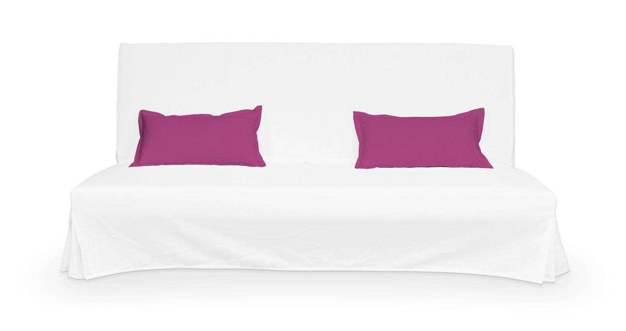 2 poszewki niepikowane na poduszki Beddinge w kolekcji Etna, tkanina: 705-23