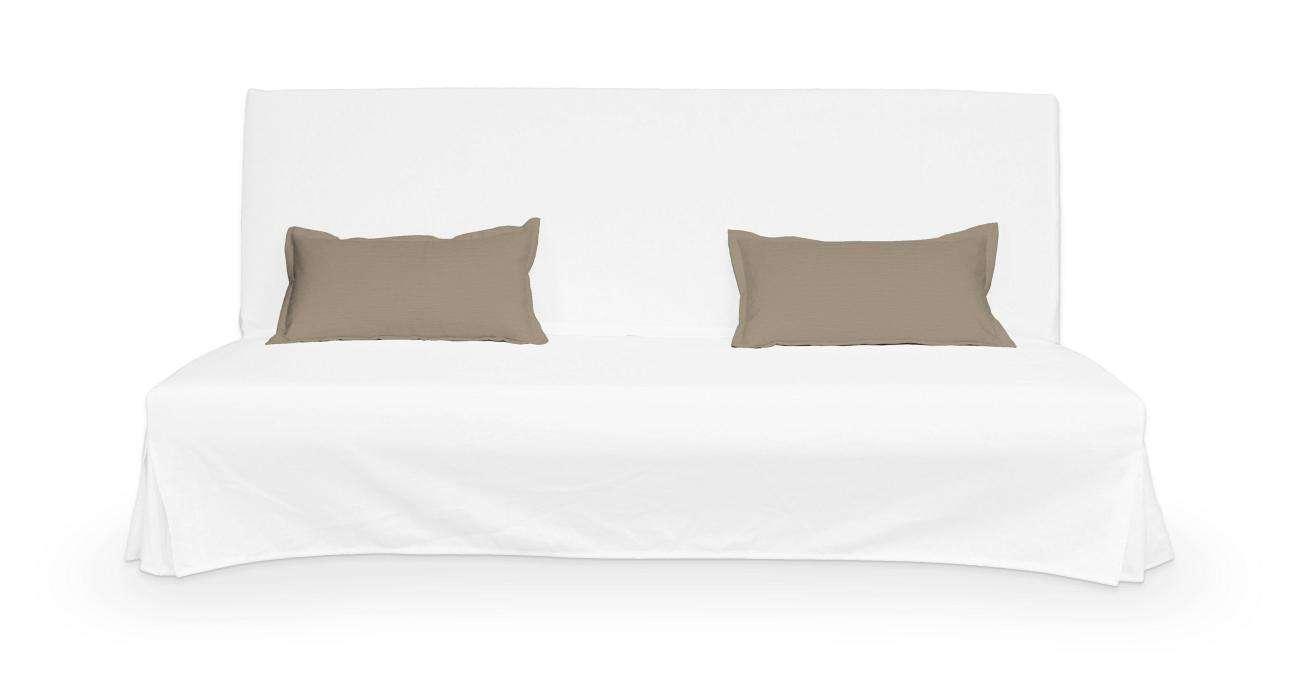 2 poszewki niepikowane na poduszki Beddinge w kolekcji Cotton Panama, tkanina: 702-28