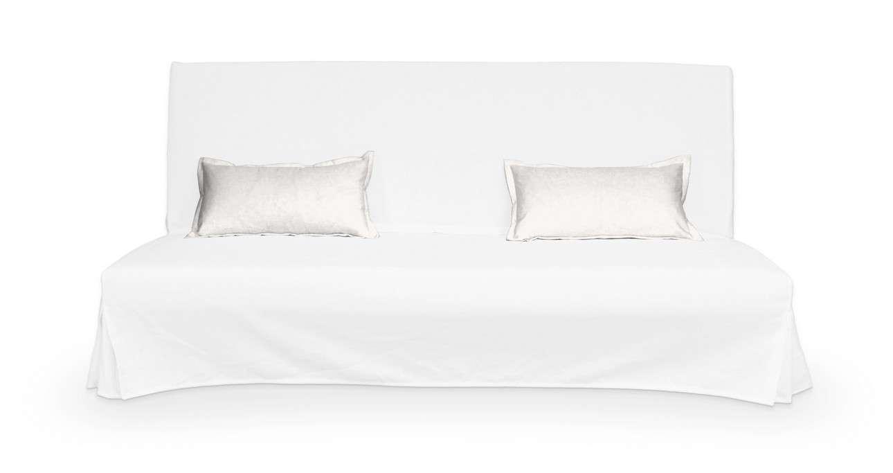2 poszewki niepikowane na poduszki Beddinge w kolekcji Cotton Panama, tkanina: 702-34