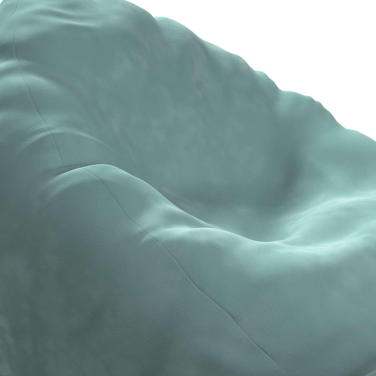Worek do siedzenia Bowli w kolekcji Posh Velvet, tkanina: 704-18