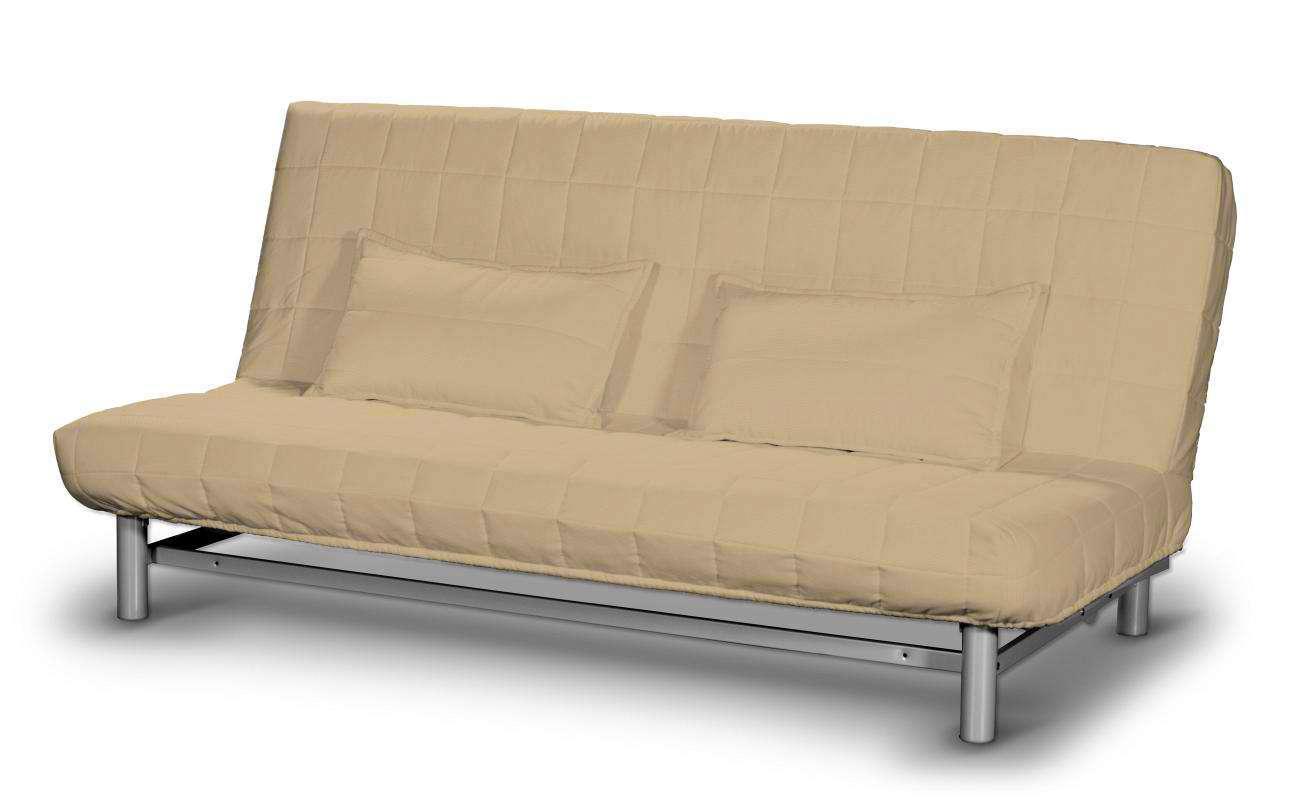 Pokrowiec na sofę Beddinge krótki w kolekcji Cotton Panama, tkanina: 702-01